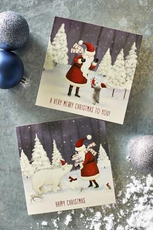 20 pack santa christmas cards - Where To Buy Christmas Cards
