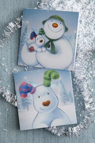 20 pack the snowman the snowdog christmas cards