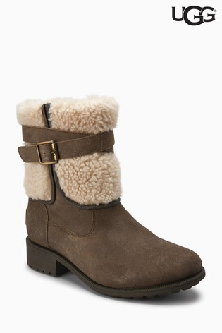 UGG® Blayre Dove Side Zip Boot ...