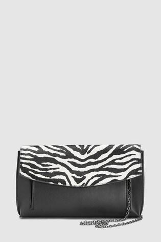 9b2be17c8bca Buy Zebra Print Envelope Clutch Bag from Next Ireland