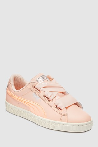 0af56feb8fad5 Buy Puma® Basket Heart Jelly Junior Trainer from Next France