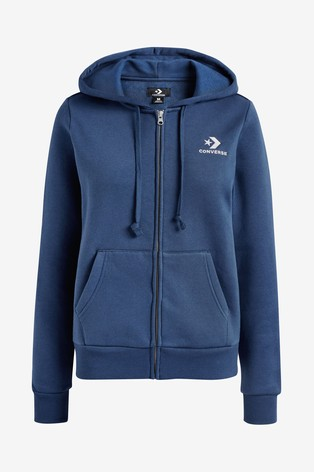 ad25e45eeb01 Buy Converse Navy Patch Zip-Up Hoody from Next Ireland