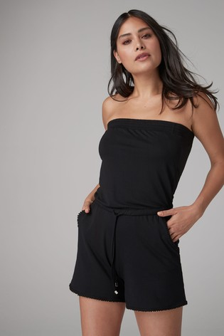 ea27ad8861a Buy Black Playsuit from the Next UK online shop