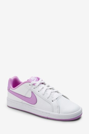 fcbb0d520b487 Buy Nike White/Pink Court Royale Youth from the Next UK online shop