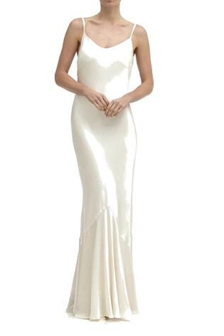 504b521959a2a8 Buy Ghost London Cream Bella Satin Dress from the Next UK online shop