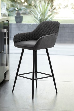 Enjoyable Hamilton Black Leg Bar Stool Pdpeps Interior Chair Design Pdpepsorg