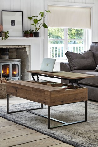 Buy Bronx Coffee To Desk Table From The Next Uk Online Shop