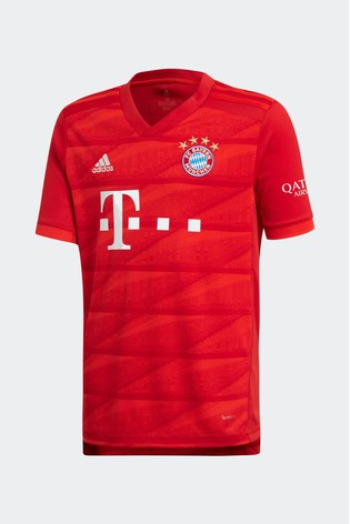 a9c892c8b176d Buy adidas Red FC Bayern Munich 19/20 Home Jersey Top from the Next ...