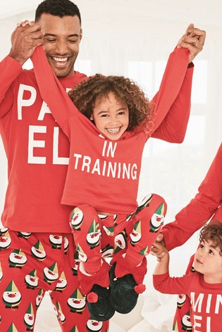 Buy Red Older Kids Elf In Training Pyjamas (3-16yrs) from Next Hong Kong 1a165259d