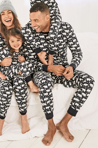 2ee379d4c Buy Navy Just Like Me Mens Polar Bear Pyjamas from Next Hong Kong