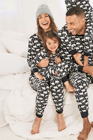3a2b3d47efc4 Buy Navy Just Like Me Womens Polar Bear Pyjamas from Next Hong Kong