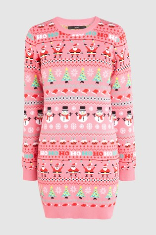 459b47699f2c49 Buy Pink Womens Christmas Wrapping Paper Tunic from Next Hong Kong