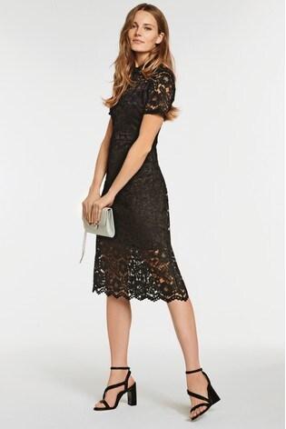 Kúpiť čierne čipkované šaty from Next Slovakia b5d60c82d00