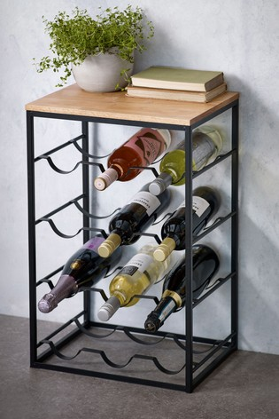 Buy Floor Standing Wine Rack From The Next Uk Online Shop