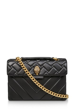 newest cheaper undefeated x Buy Kurt Geiger London Leather Kensington Black Day Bag from the ...