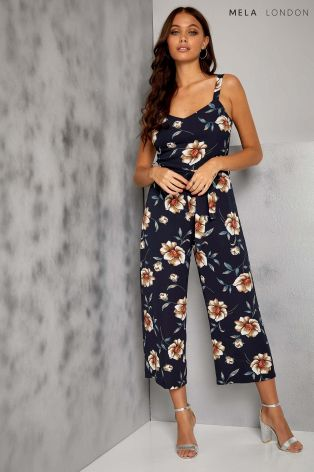 Buy Mela London Floral Cullotte Jumpsuit From Next Hong Kong
