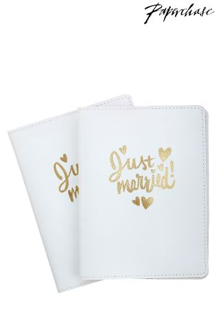 Buy paperchase wedding passport holder set from the next uk online shop paperchase wedding passport holder set reheart Images