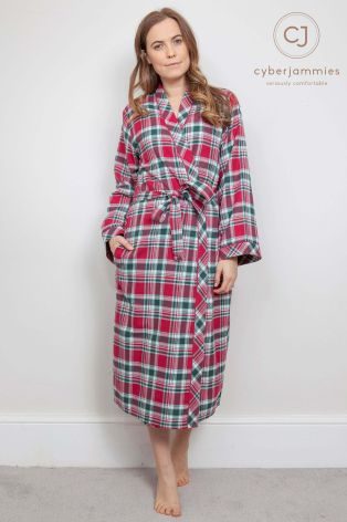 Buy Cyberjammies Check Dressing Gown from Next USA