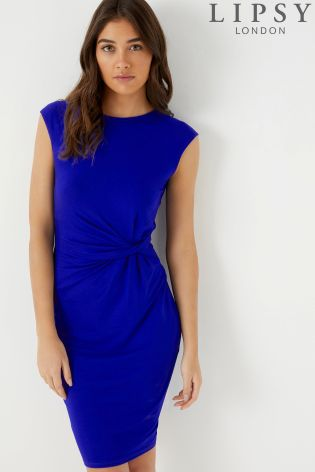 Buy Lipsy Sleeveless Ruched Jersey Dress From The Next Uk Online Shop