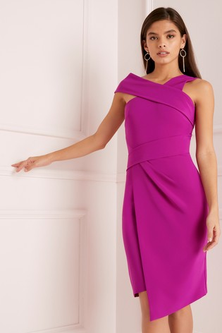 11a9d91c46948a Buy Lipsy Assymetric Neck Bodycon Dress from Next Ireland