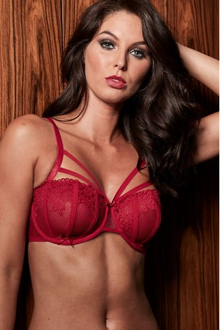d8bab781de0 Buy Pour Moi Contradiction Strapped Underwired Bra DD+ from the Next ...