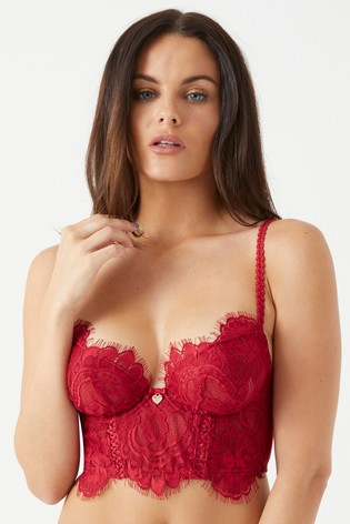 2dbbda50da6fc Buy Lipsy Lonnie Lace Bra from the Next UK online shop