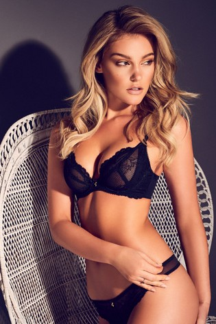 dc256d78c4c0b Buy Gossard Superboost Lace Non Padded Plunge Bra from the Next UK ...