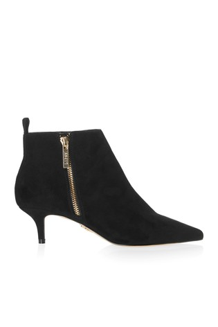 75680d1c28b Buy Lipsy Zip Detail Kitten Heel Ankle Boots from the Next UK online ...