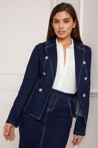 13dd1bb657e Buy Lipsy Tailored Denim Jacket from Next Ireland