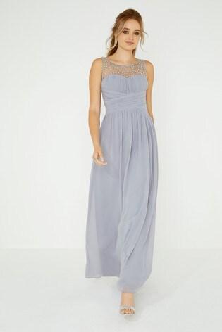 57e98b8730f Buy Little Mistress Beaded Top Maxi Dress from the Next UK online shop