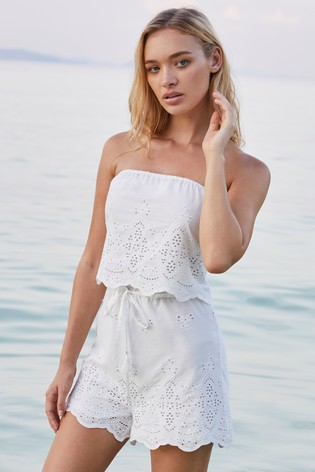 653091af74be Lipsy Broderie Playsuit · Lipsy Broderie Playsuit · Lipsy Broderie Playsuit.  Next
