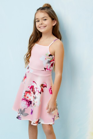 cf2fb72fe42a Buy Lipsy Girl Floral Scuba Dress from Next Slovakia