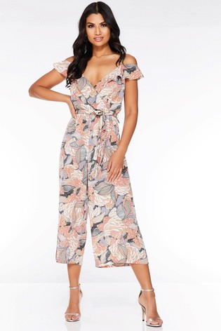 b3454354 Buy Quiz Abstract Culotte Jumpsuit from the Next UK online shop