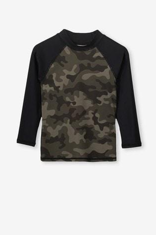 4e6c02e36 Buy Cotton On Fraser Long Sleeve Rash Swim Vest from the Next UK ...