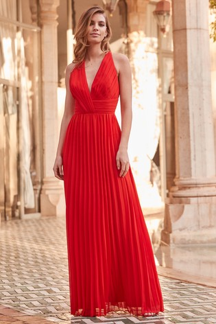 Buy Lipsy Petite VIP Premium Pleated Maxi Dress from the Next UK ... a3e2602ce