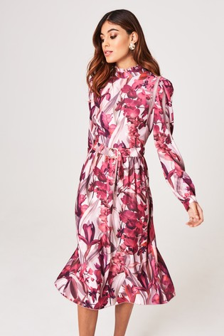 best sell special section professional sale Buy Little Mistress Floral Midi Dress from Next Israel