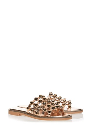 Style Shoes Studded Slider