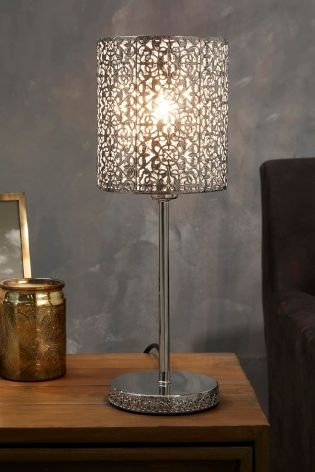 Delores Capiz Shell Table Lamp – Satin Brass (Copy)