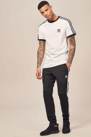 627b0e9cef361 adidas original 3 stripe t-shirt
