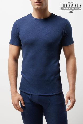6ac8f57770a2 Buy Blue Thermal Short Sleeve Top from Next Slovakia