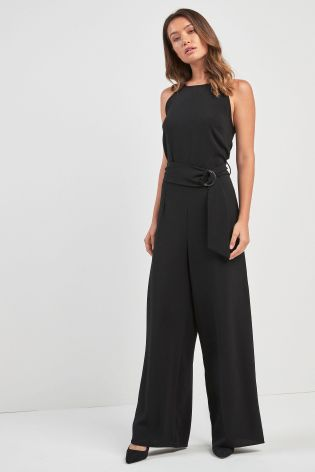 c40da94b9e40 Buy Black Black Belted Jumpsuit from Next Slovakia