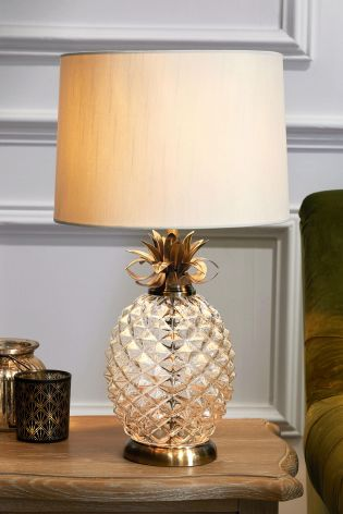Buy pineapple table lamp from the next uk online shop pineapple table lamp aloadofball Choice Image