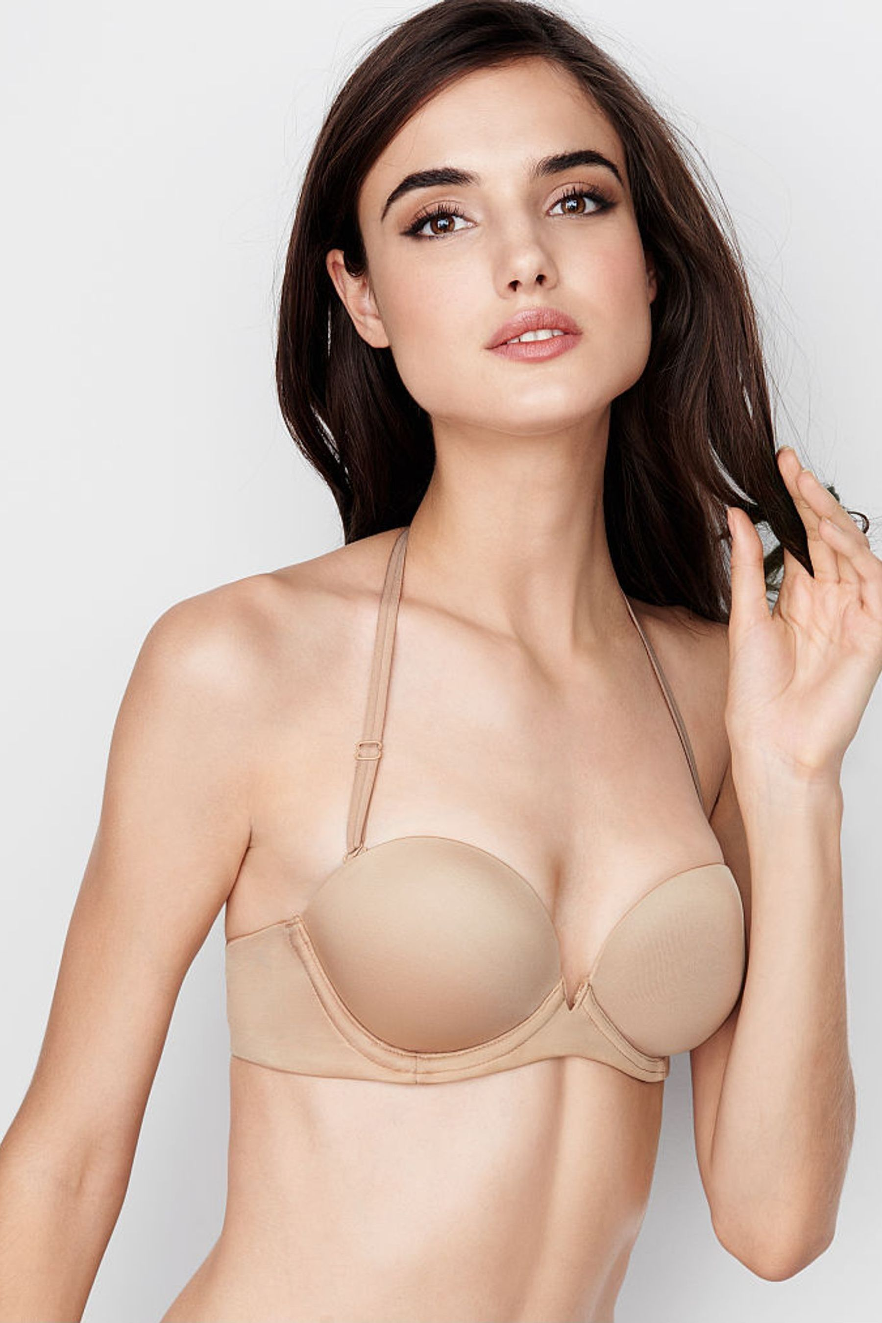 Buy Victorias Secret Push Up Strapless Bra from the Next