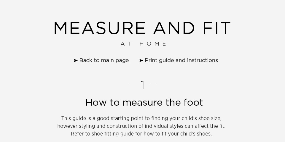 Measure \u0026 Fit At Home | Next Official Site