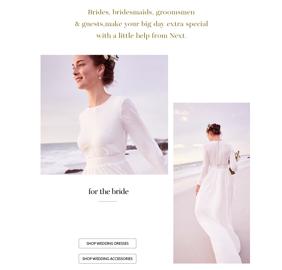 Bridesmaid Dresses | Wedding Shoes & Occasion Wear UK | Next