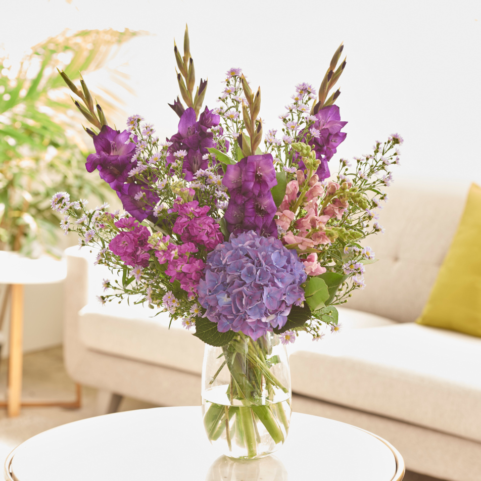 August Bouquet of the Month with Chocs