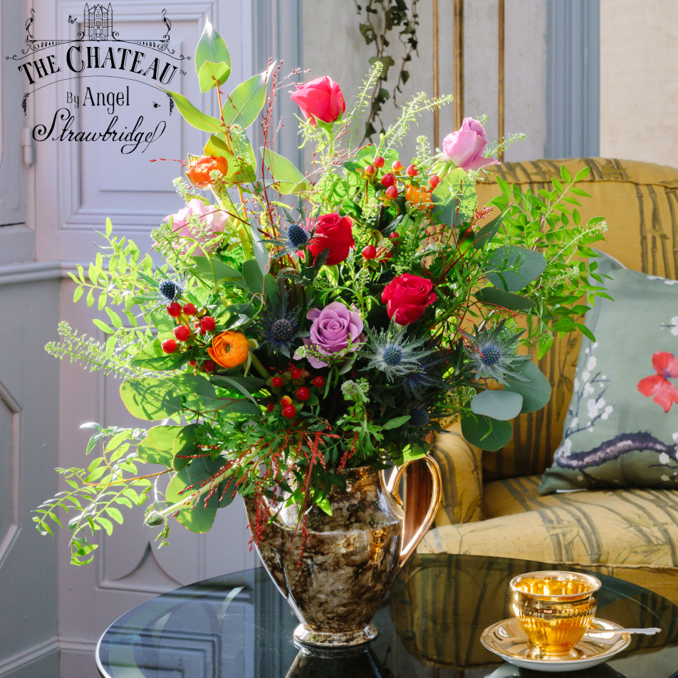 The Chateau Wild Rose Bouquet