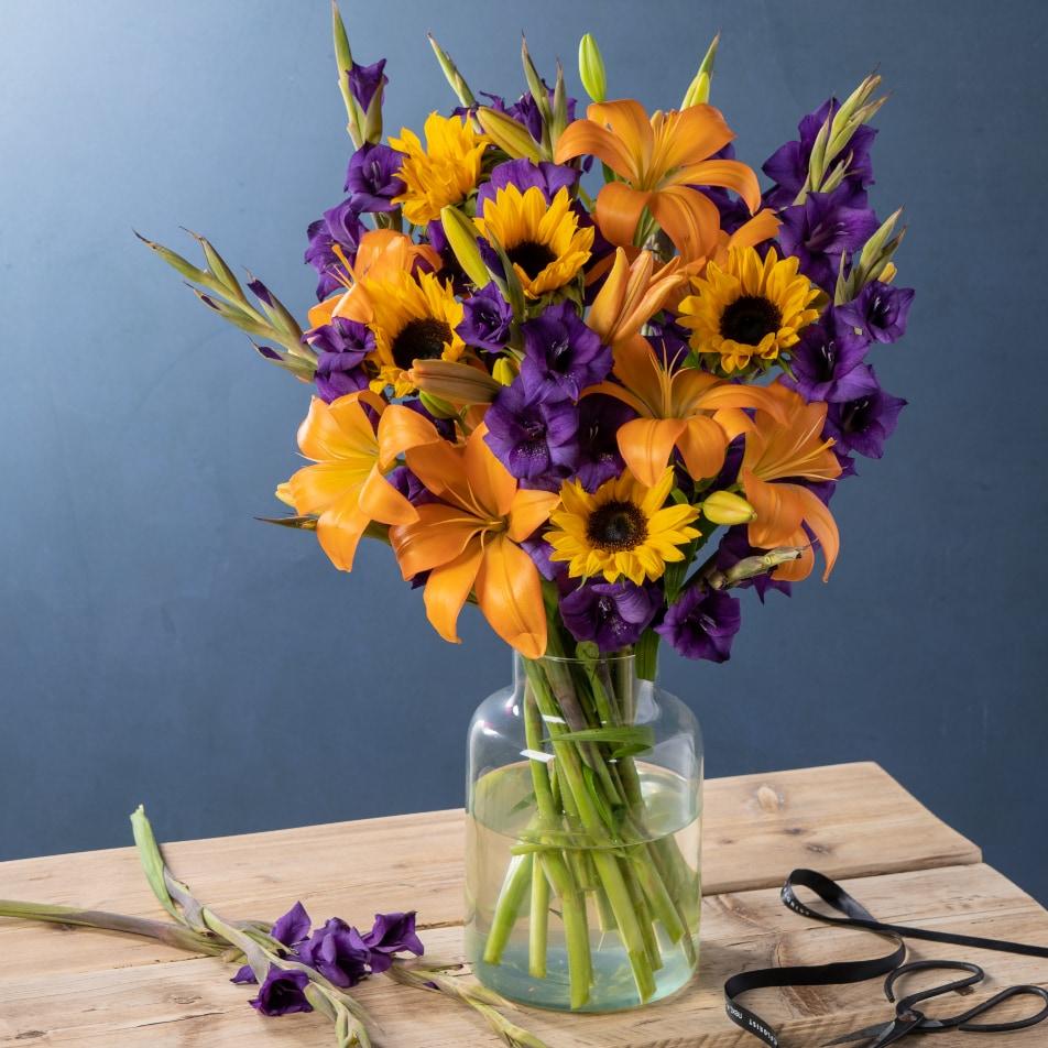 July Seasonal Flower Box with Chocs