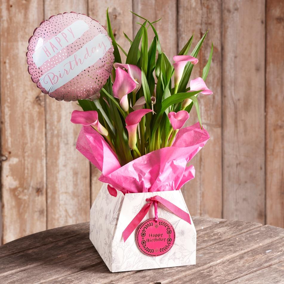 Calla Lily Birthday Gift