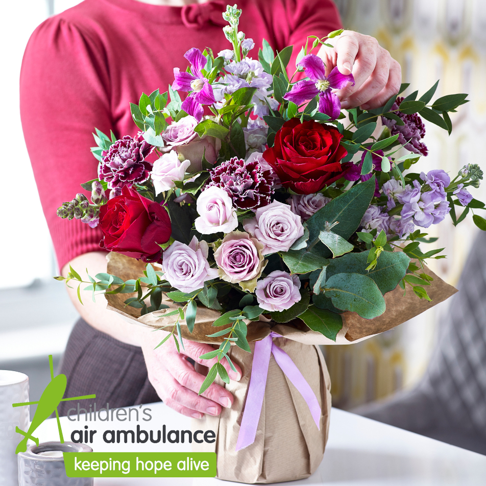 October Charity Bouquet with Chocs
